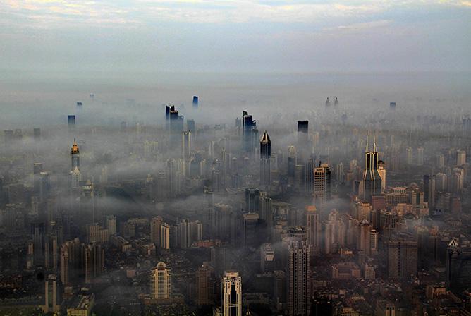 Une vue de Shanghai