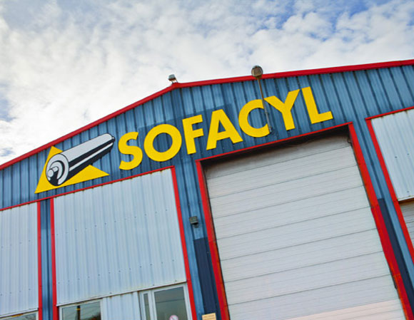 Fabrication de cylindre pour la flexographie par SOFACYL